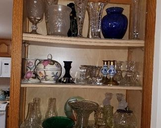 Vases, candle holders, etc.