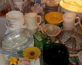 Kitchen ceramics and glass