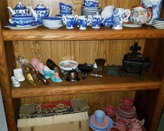 Children's china and toys