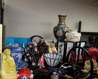 Asian design decorative items