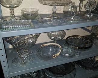 Crystal & other glass items