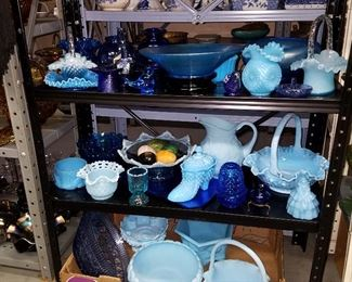 More Blue glass