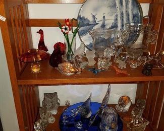 Glass animals, etc.