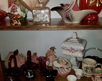 Collectible glass and china