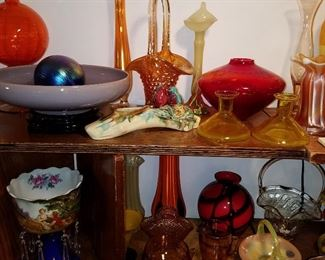 Assorted glass