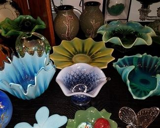 """Fostoria """"Heirloom"""" and other bowls"""