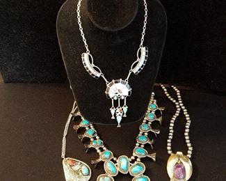 Vintage Native American Sterling