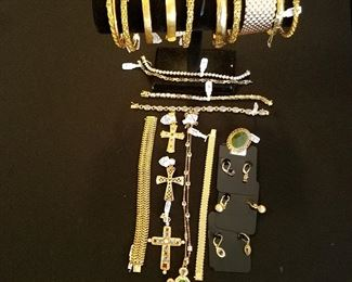 Vermeil Jewelry (Gold over Sterling Silver)