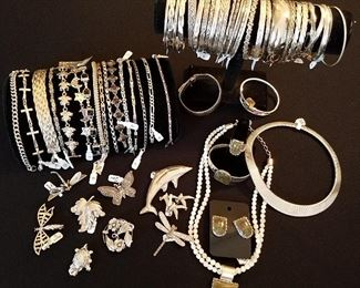 SAMPLE of the QUANTITY of Sterling Jewelry