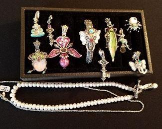 Barbara Bixby Sterling & 18K jewelry
