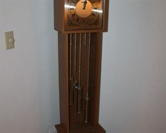 Vintage MCM grandfather clock