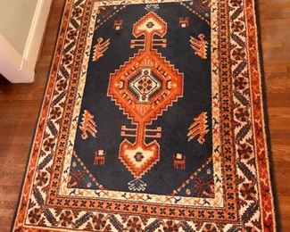 "Danish 1970s wool rug 6' X 8' 8"""