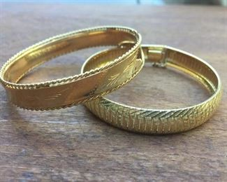 14k Bangle Bracelet Duo https://ctbids.com/#!/description/share/274616