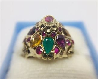 Vintage Thai Princess Ring and Ring of Opals https://ctbids.com/#!/description/share/274645