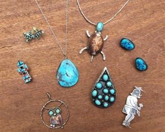 Native American Jewelry Collection https://ctbids.com/#!/description/share/274692