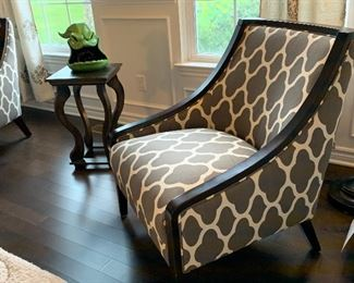 Upholstered Side Chair (2 available)