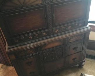 REALLY great quality piece, with matching dresser! BUY BOTH TO GET A DEAL!