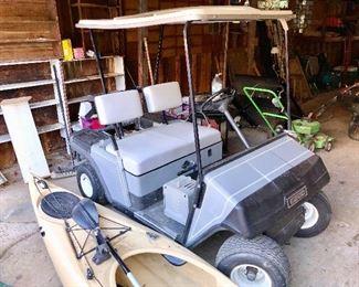 EZ-GO golf cart...runs like a champ!