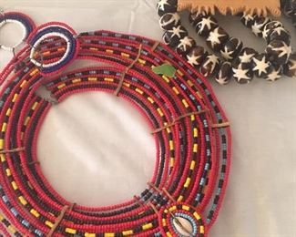 Tribal jewelry acquired Mid-Century
