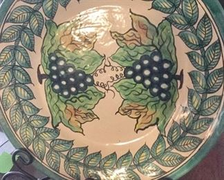 Vintage and newer pottery