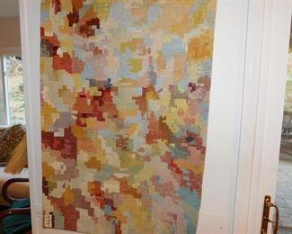 John St. John woven wool tapestry