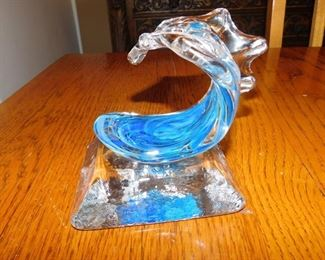 David Wight Tsunami wave sculpture
