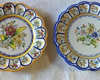 Hand painted Platters