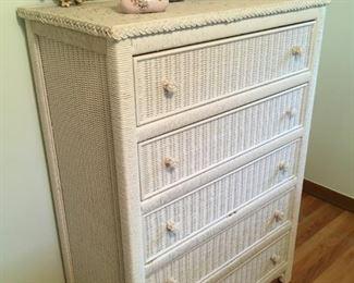 . . .  a beautiful wicker dresser -- part of a great wicker bedroom set.