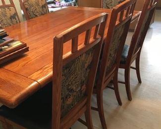 . . . a beautiful dining room set.