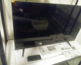 1 of 4 flat screen TVs