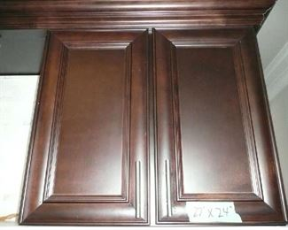 "All 3 parts of the Kitchen Cabinets and including 99"" shelve, Granite Counters, SS Sink, Faucet & Disposal. $3,250.00."