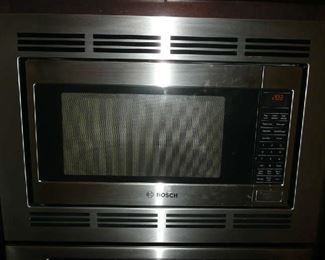 Bosch Microwave with trim kit. Model: HMB5050/01. $245.00.