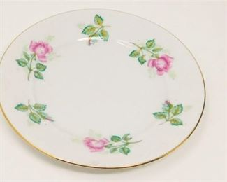 5. Ten 10 Royal Coburg Rosalia China Plates