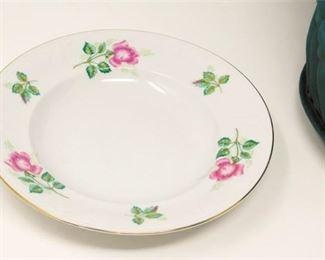 3. Eleven 11 Plates of Royal Coburg Rosalia China