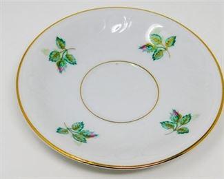 6. Eleven 11 Royal Coburg Rosalia China Saucers