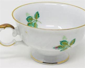 7. Twelve 12 Royal Coburg Rosalia China Teacups