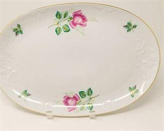 12. Royal Coburg Rosalia Oval Platter