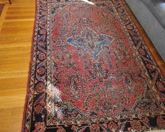 1920s Sarouk rug; approximately 6x9