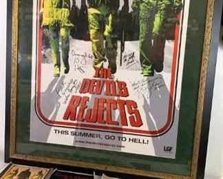 "RARE Autographed ""the Devils Rejects"" Framed"