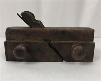 Lot 003 Antique Wooden Double Blade Plane Sandusky O. Tool Co.