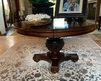 Entry way table, could also be a kitchen table