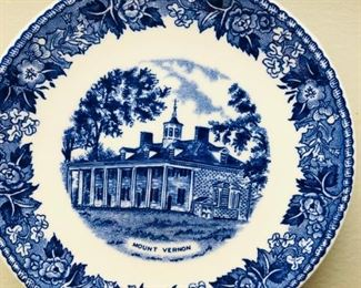 George Washintong's Mount Vernon collector plate