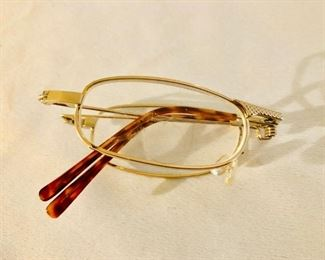Folding glasses w/case