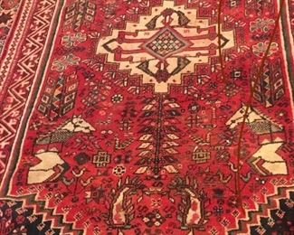 Over a dozen semi antique rugs...great sizes great prices