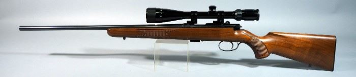 J.G. Anschutz GmbH Ulm West Germany Model 1422 .22 LR Bolt Action Rifle SN# 1287476, With Bushnell 6-18 x 40 Scope