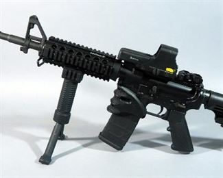 Smith & Wesson M&P-15 5.56 Nato/.223 Rifle SN# SR93232, With L3 EOTech Red Dot Sight, Adjustable Stock And Foregrip Bipod
