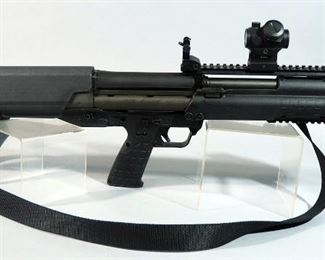 Kel-Tec KSG 12 Gauge Tactical Shotgun SN# X2R85, With Bushnell Scope, Front And Rear Flip-Down Sights And Sling