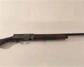Browning Semi-Automatic Rifle. No sale of this item to minors and a Valid Driver's License is required at time of pick up.