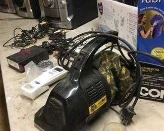 vacuum cleaners, fabric steamer, sliding barn door hardware