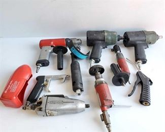 4515: Snap-On Pneumatic Drill, Air Ratchet, Butterfly Impact Wrench and More Snap-On Pneumatic Drill, Air Ratchet, Butterfly Impact Wrench and More